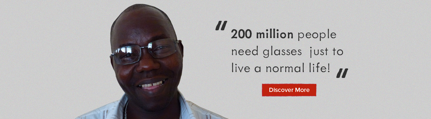 200 Million people need glasses...